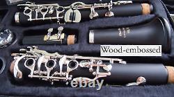 26 Klappen Profi Klarinette German System Clarinet 26 FL Clarinete 26 tec
