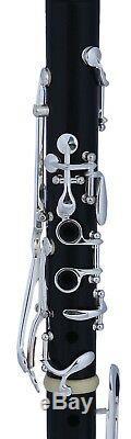 A Clarinet LA clarinette German Ebony wood A sas Klarnet