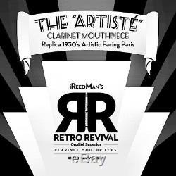 ARTISTE´ REPLICA 30's PARIS ARTISTIC FACING Bb CLARINET MP NEW. 101 MODEL 1A