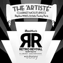 ARTISTE´ REPLICA 30's PARIS ARTISTIC FACING Bb CLARINET MP NEW. 101 MODEL 4A