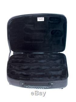 BAM Katyushka Bb & A Clarinet Case Black 4 Barrels Waterproof Sturdy Hard Shell