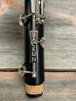 Backun Q Bb Clarinet Professional Grenadilla Wood Authorized Dealer NEW