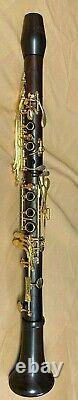 Backun Yellow Gold Keys Cocobolo Bb New! With Double Case and 2 Fat Boy Barrels