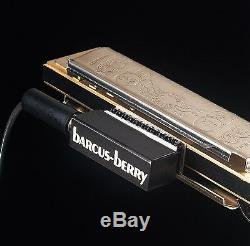 Barcus-Berry 5600 Clarinet/Saxophone/Harmonica Mic with Preamp, Brand New in Box