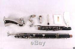 Bass Clarinet Model PADS And Case Low c Nice Tone Low C Powerful sound