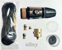 Bass Clarinet PiezoBarrel'Wood' Pickup, Leblanc Vito II Mouthpiece & Cable