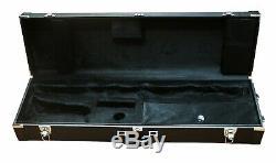 Bass Clarinet Wood Case (range to Low Eb)