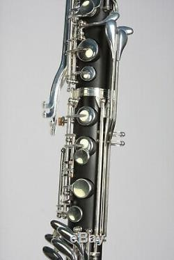 Bassklarinette Bass Klarinette, echt versilbert, inkl. Koffer, TOP + NEU