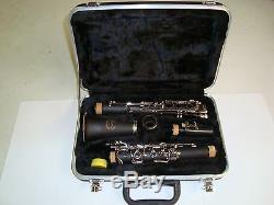 Bb Clarinet Prestini- ABS Plastic and nickel plated keys