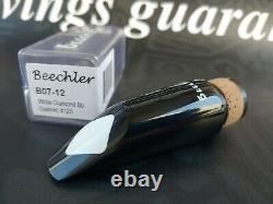 Beechler #12S White Diamond Bb Clarinet Mouthpiece