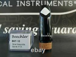 Beechler Bb Clarinet White Diamond Inlay Mouthpiece B07