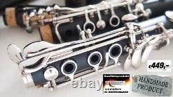 Böhm Klarinette 2 Birnen French Clarinet Clarinete francés Clarinetto france