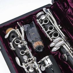 Brand New PRO YAMAHA Clarinet CUSTOM YCL SEVR SHIPS FREE WORLDWDE