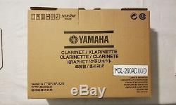 Brand New Yamaha YCL-200ADII Advantage Bb Clarinet