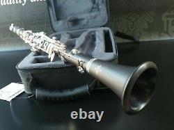 Buffet Crampon E12F Wood & Silver keys Bb Clarinet Professional(Backpack case)