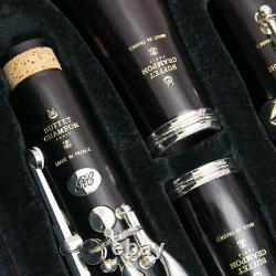 Buffet Crampon RC Bb Clarinet BC1114-2-0 Silver Plated