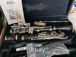 Buffet Crampon TRADITION A Clarinet Silver Plated BC1216L-20 NEW! MAKE OFFER
