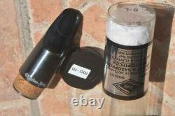CHARLES BAY U. S. A. BASS CLARINET MOUTHPIECE, BRAND NEWithCLARINO BASSO BOCCHINO