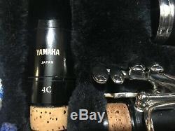 CLARINETTO CLARINET YAMAHA 250 sib USED FOR 3 TIMES USATO PER 3 VOLTE