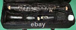 CLARINETTO Eb/Mib NEW ORLEANS 17 KEYS BODY EBONITE BK MATT