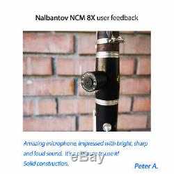 Clarinet Barrel Microphone for all mouthpieces and clarinets Nalbantov NCM 8X