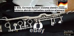 Clarinet Sol G Clarinet Klarnet Sol Türk Klarnet G Key Clarinet Turkish G Key