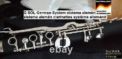 Clarinet Turkish Klarnet Sol major Türk Klarnet G Key Sol Clarinet Greek AT