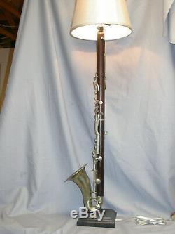 Eb ALTO CLARINET LAMP WOOD -AWESOME