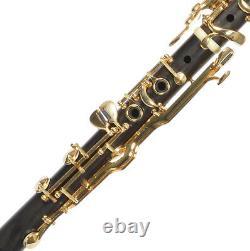 G Clarinet TURKISH clarinet Sol Klarnet of Ebony wood BRAND NEW