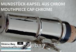 Klarinette Holzblasinstrument deutsches System 21 Klappen Berg Germany