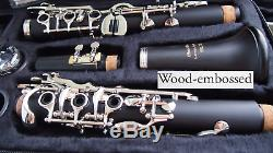 Klarinette Porfi-Vollsystem 26 Klappen Clarinet 26 FL Clarinete 26 tec
