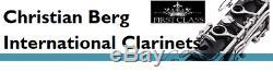 Klarinette Profi Vollsystem 26 Klappen deutsches System Clarinet Professionnelle