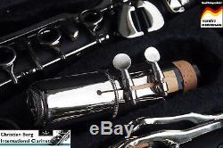 Klarinette deutsches System Holzblasinstrument 21 Klappen Sib système allemand
