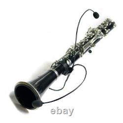 MICROPHONE for PICCOLO CLARINET THE FEATHER PLUS by Myers Pickups