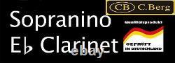 Mi bémol clarinette Eb Clarinet- Eb Requinto Eb / Es Clarinette Sopranino