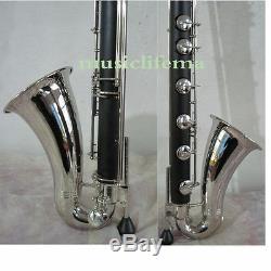 New BASS (Low C)Clarinet Bb Hard Bakelite Body