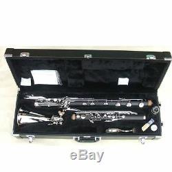 New High quality Low C bass Clarinet kit Hard Bakelite Body Nickel Plated