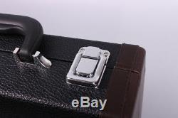 New Professional Clarinet Natural ebony Wood Body Nickel Plated Key Bb 17 key #8