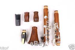 New Professional Clarinet Rosewood Wood Body Nickel Plated Key B-flat 17 key Bb