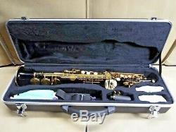 OPUS Black Gold Soprano Straight Saxophone Sax