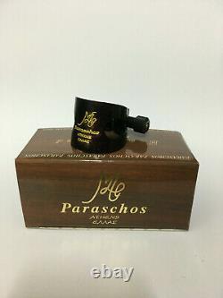 Paraschos sax soprano wooden ligature. Free&fast TNT international shipping