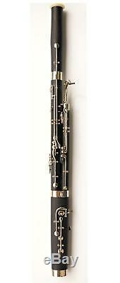 Professional G bassoon musical instrument hard rubber or ABS resin tube body