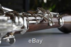 ROSE WOOD Bb CLARINET STERLING Pro Quality Wooden Brand New With Case