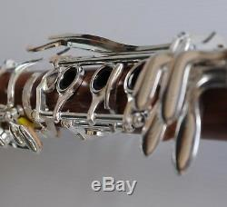 ROSE WOOD Bb CLARINET STERLING Pro-Quality Wooden Brand New With Case