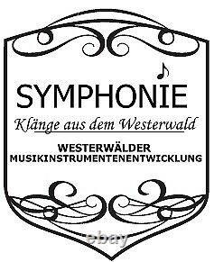 SYMPHONIE WESTERWALD Top Klarinette mit Böhm-System, echt versilbert, Neu