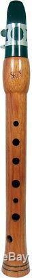 Sans POCKET CHALUMEAU, C. Recorder fingering, Clarinet mouthpiece. From Hobgoblin