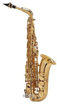 Selmer Serie III Altsaxophon, Goldlack mit Gravur NEU
