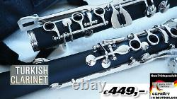 Sol Clarinet TURKISH G clarinet Sol Klarnet clarinette turque