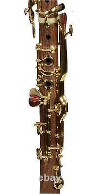 Sol Klarnet G Clarinet Cocobolo wood Turkish Türk klarnet Albert system