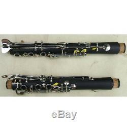 Top grade G key clarinet ebonite advanced technique